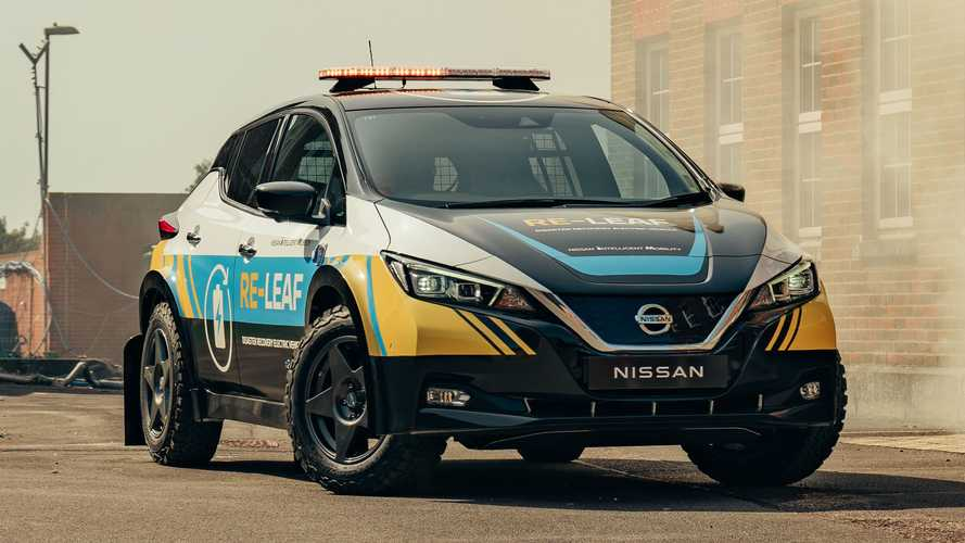 Nissan Re-Leaf is the ideal emergency EV for disaster areas*