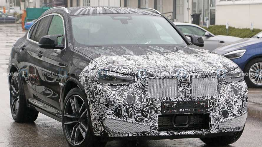 2022 BMW X4 M Facelift Erlkönigbilder