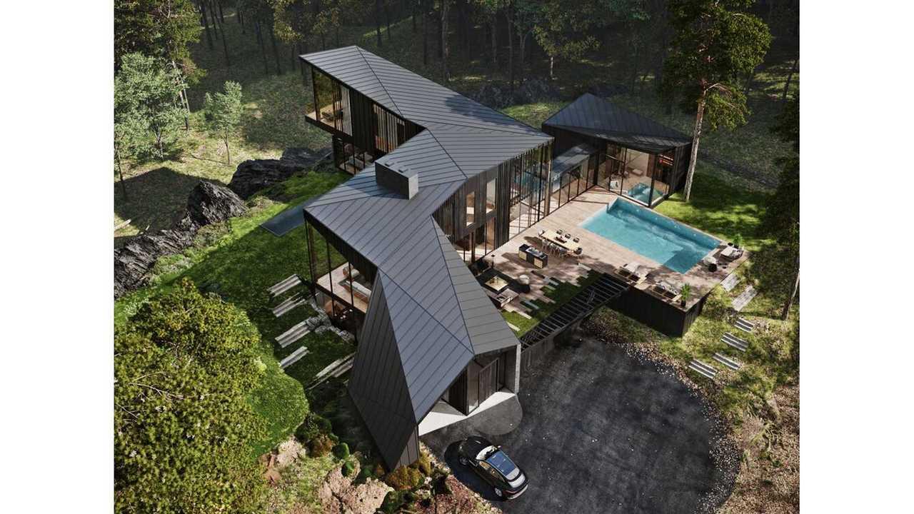 S3 Architecture ve Aston Martin Design İşbirliği İle Üretilen Malikane