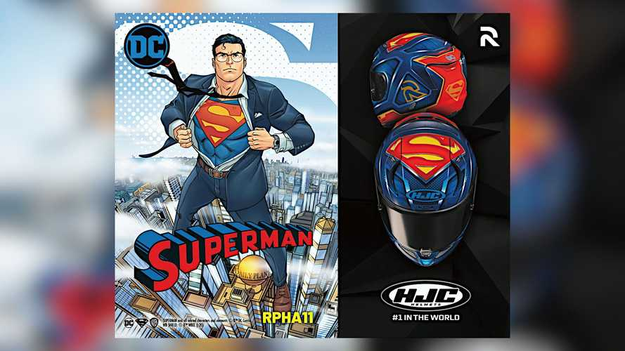 Channel Your Inner Superman With New HJC Helmet Graphic