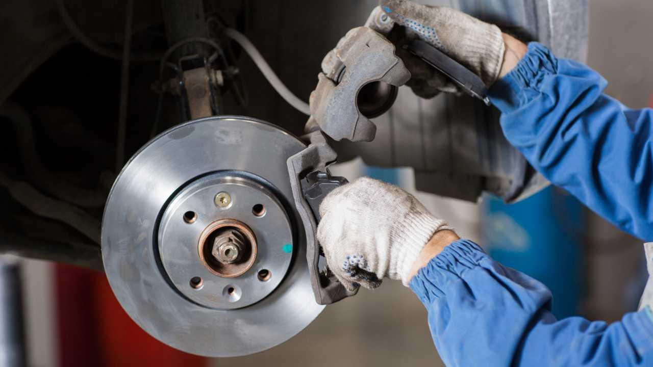 Disc Brake Pad Set-ThermoQuiet Disc Brake Pad Front Wagner QC1303