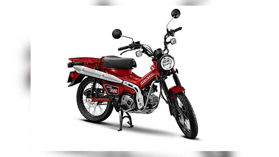 2021 Honda CT125 ABS U.S. Details Officially Announced