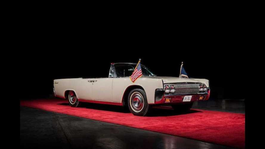 Deux Lincoln de John F. Kennedy vont être mises aux enchères