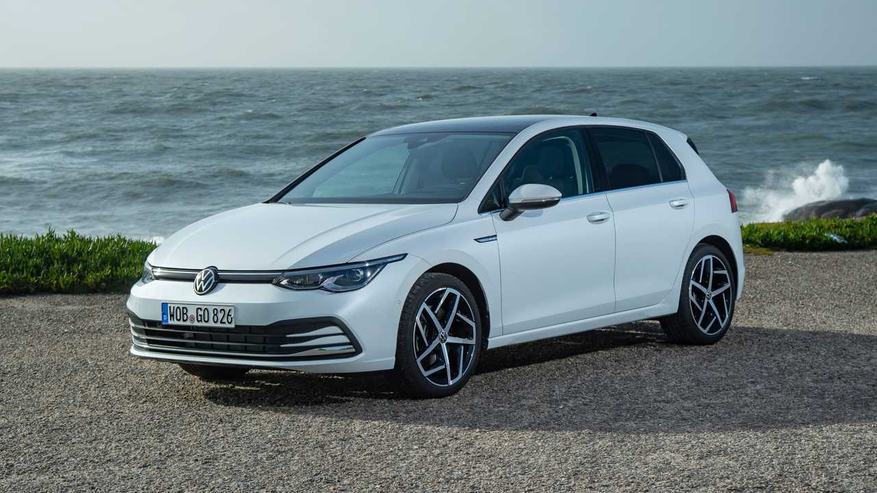 Volkswagen Golf 8 TGI (2020)