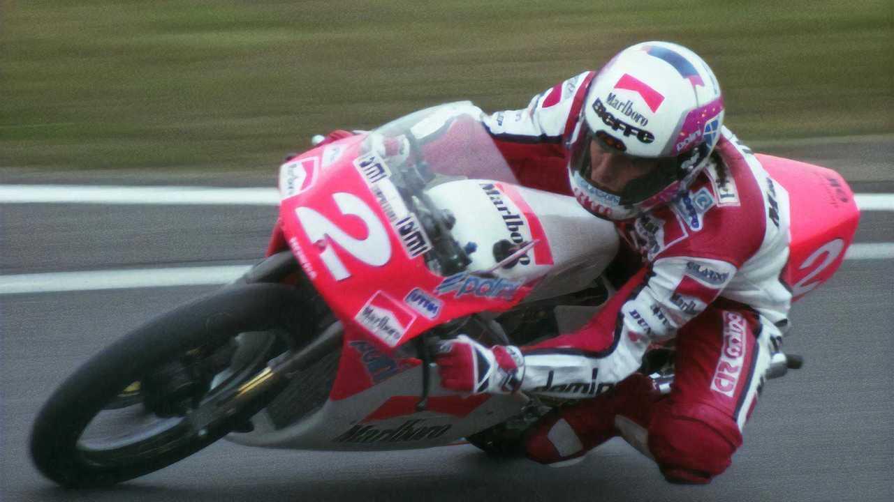 Fausto Gresini At 1992 Japanese Grand Prix