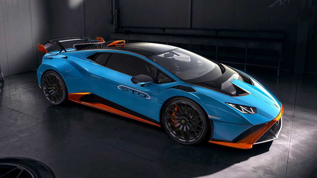 Lamborghini Huracan STO (2020), профиль