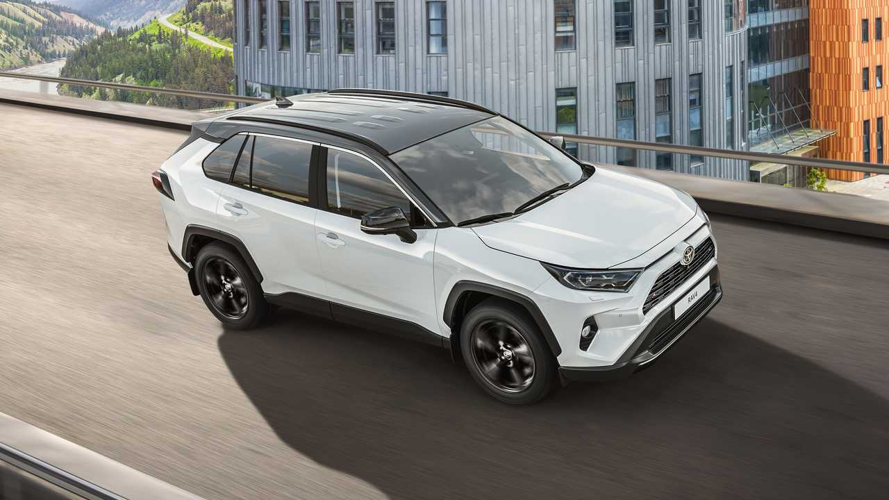 Toyota RAV4 Style для России (2020)