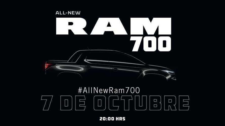 Nova RAM 700, rebadge da Fiat Strada, será revelada em poucos dias