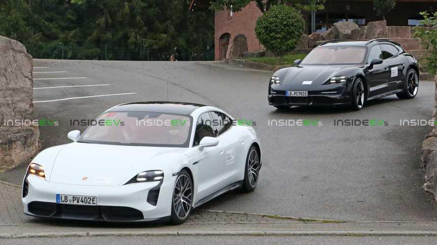 Porsche Taycan Cross Turismo 2021 - flagra