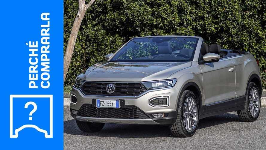 Volkswagen T-Roc Cabriolet (2020), perché comprarla e perché no