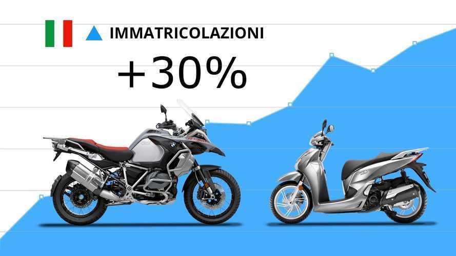 Mercato moto e scooter: settembre +30%. Benelli TRK 502 la più venduta