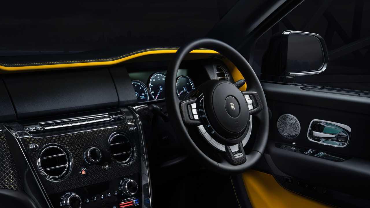 Rolls-Royce Cullinan Black Badge Interior