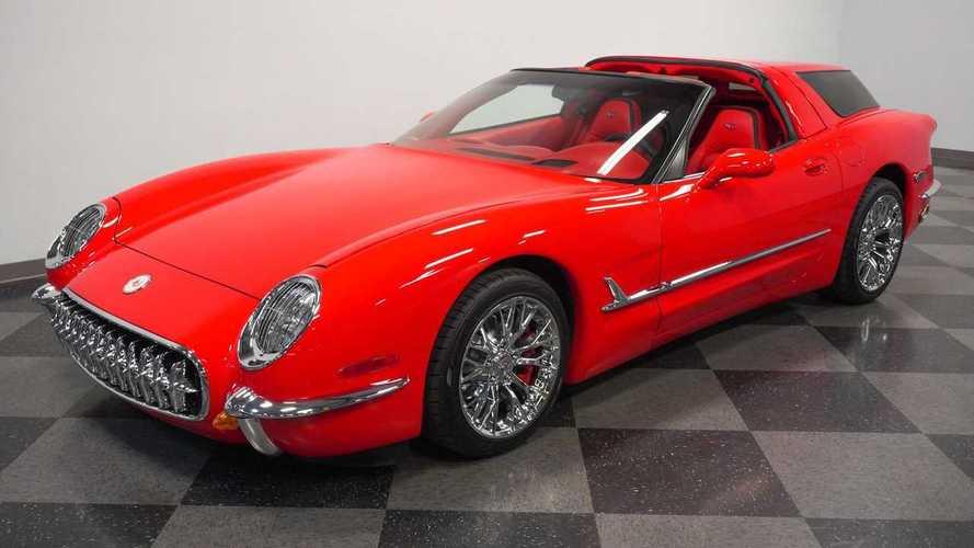 Özel üretim 2004 Chevrolet Corvette Nomad'i daha önce görmüş müydünüz?