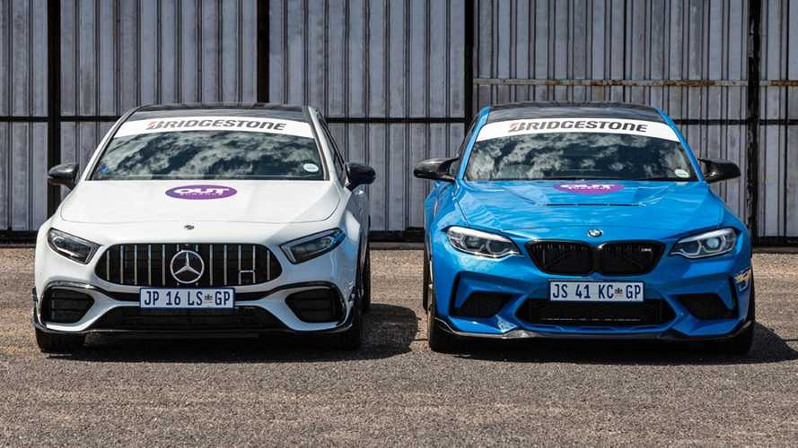 Place Your Bets As BMW M2 CS Drag Races Mercedes-AMG A45 S