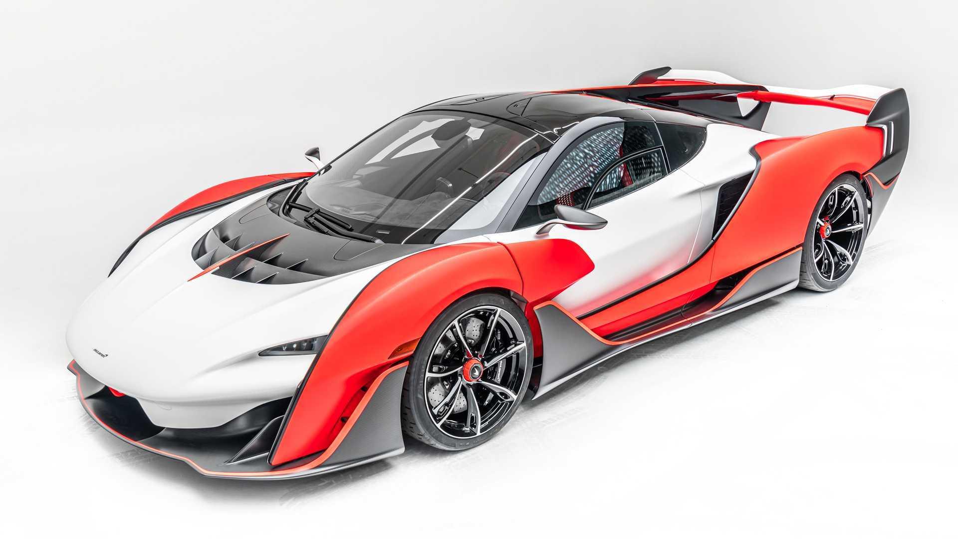 2021 McLaren Sabre Front