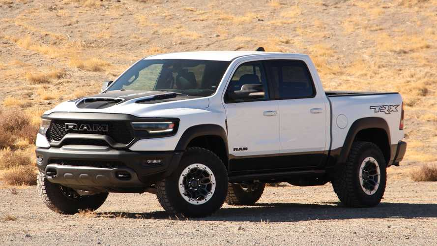 2021 Ram TRX Gets A Measly 12 MPG Combined, 10 City, And 14 Highway