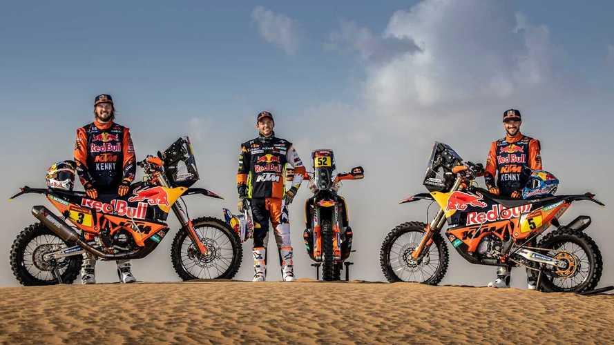 Red Bull KTM Factory Racing Team Goes All In For Dakar 2021