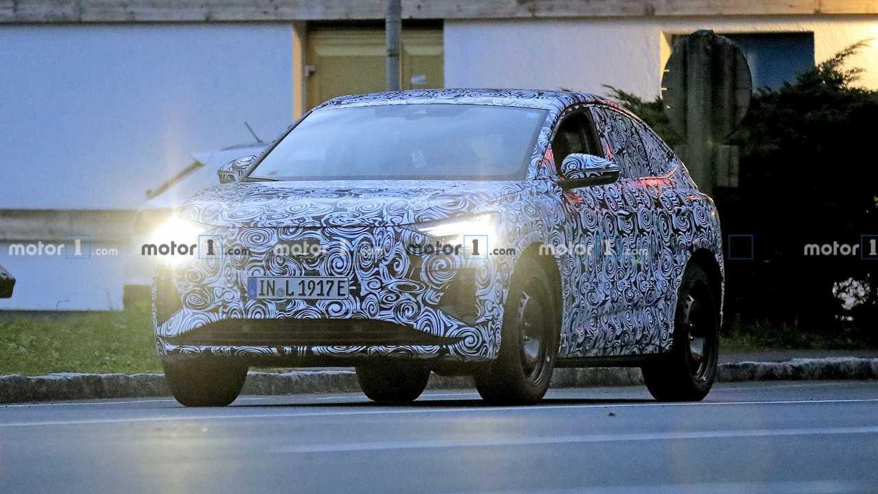 Audi Q4 e-tron Sportback casus fotoğraf