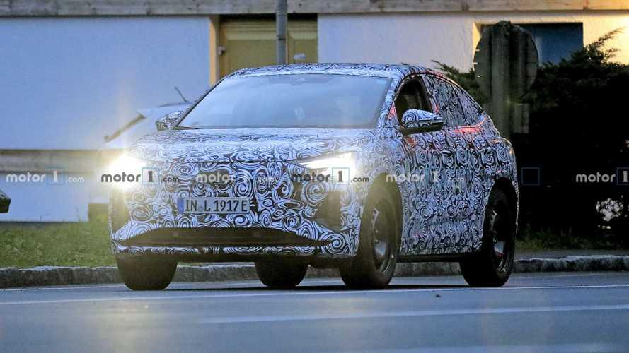 Audi Q4 E-Tron Sportback spy photos