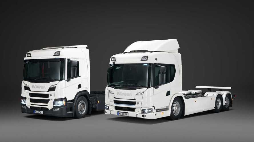 Scania lancia i nuovi camion elettrici e PHEV