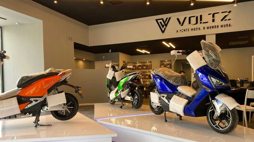 Exclusivo: conheça a 1ª loja de motos elétricas de SP (Voltz Motors)