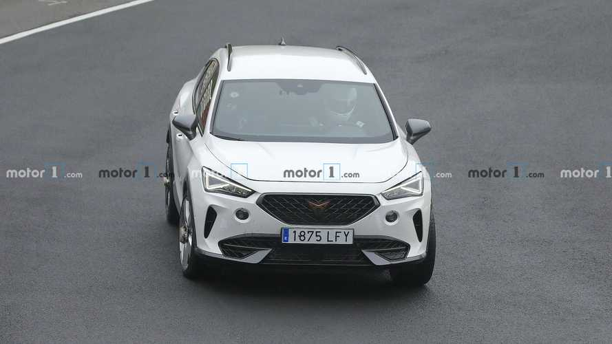 400-Hp Cupra Formentor Spy Images