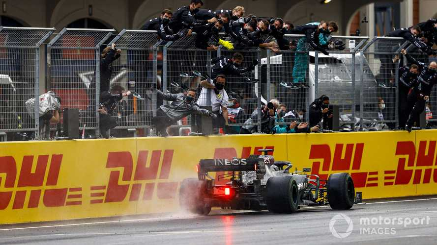 Lewis Hamilton: Turkish GP my 'stand-out performance' of F1 2020
