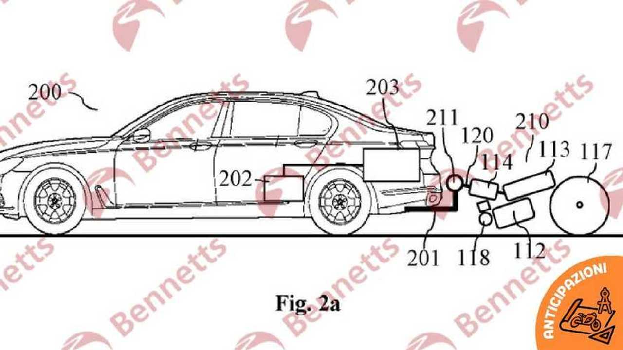 BMW brevetto moto generatore energia