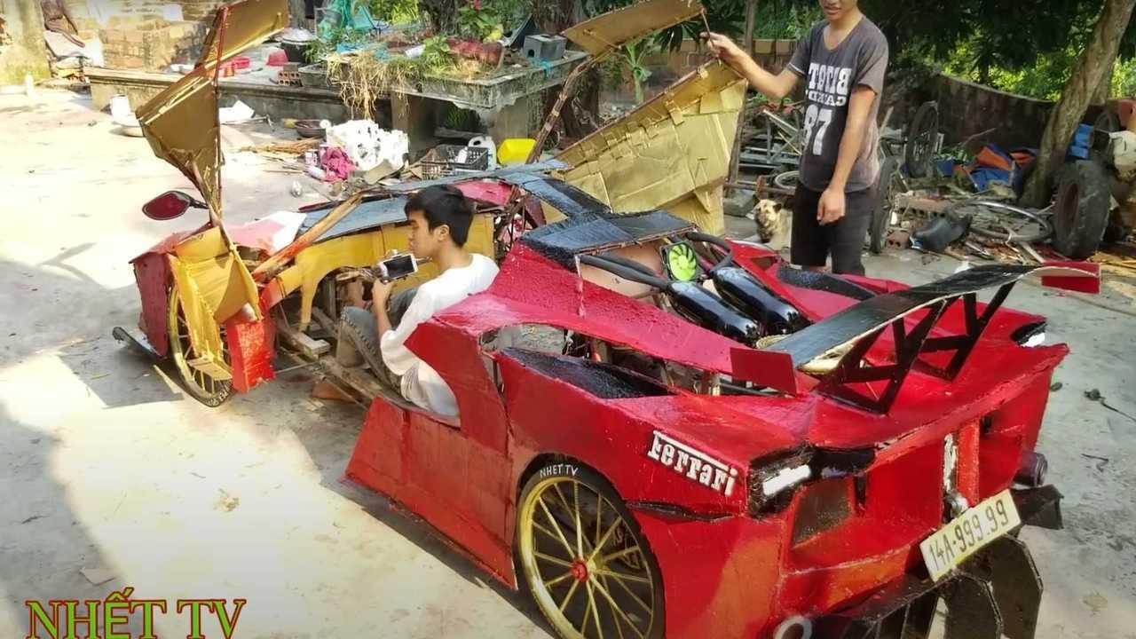 За волю к победе: ребята из Вьетнама и их Ferrari за 100 долларов