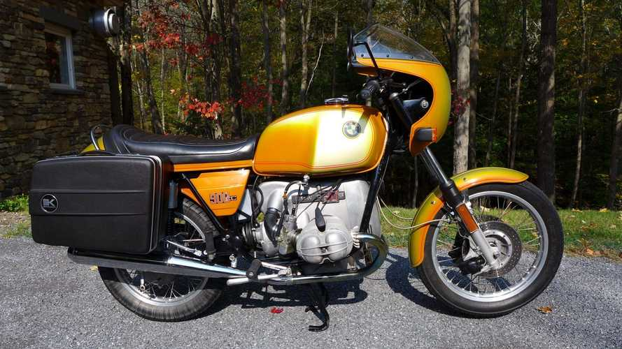 This BMW R90S Is A Slice Of The 1970s