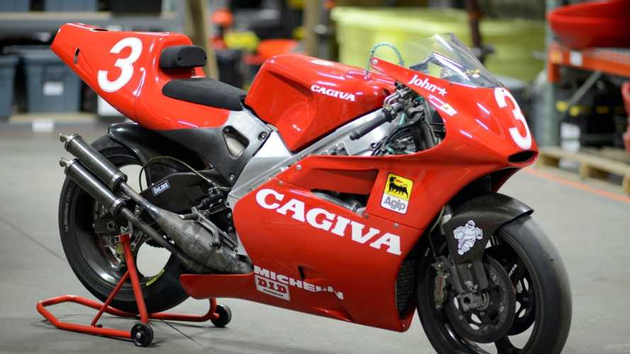 The 1993 Cagiva V593 Had One Horsepower Per Pound