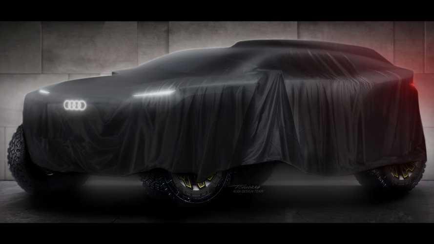 Audi anuncia retorno ao Rally Dakar em 2022 com carro eletrificado