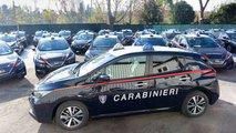 La Nissan Leaf dei Carabinieri