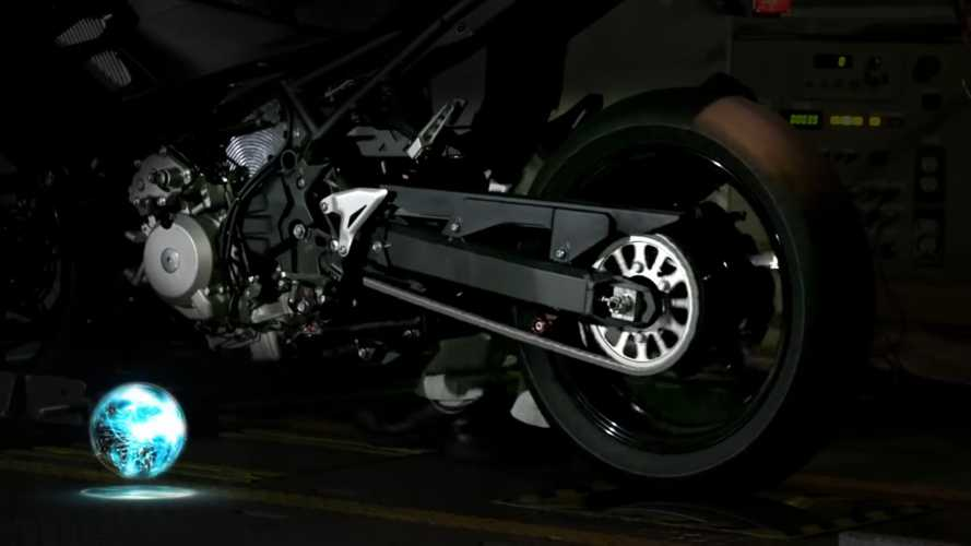 Kawasaki Is Teasing Its Hybrid Powertrain In This Video