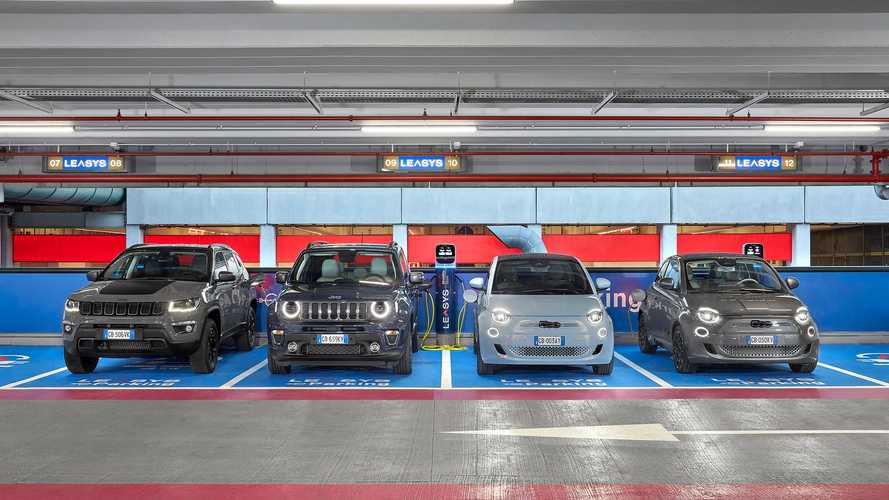 La flotta a noleggio Leasys sarà solo di auto elettriche o plug-in