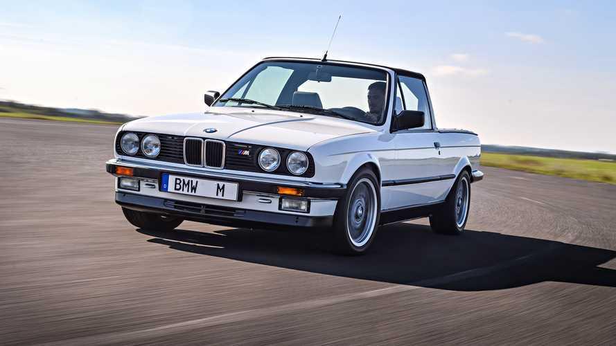 """BMW M3 Pick-up, il bolide """"di servizio"""""""