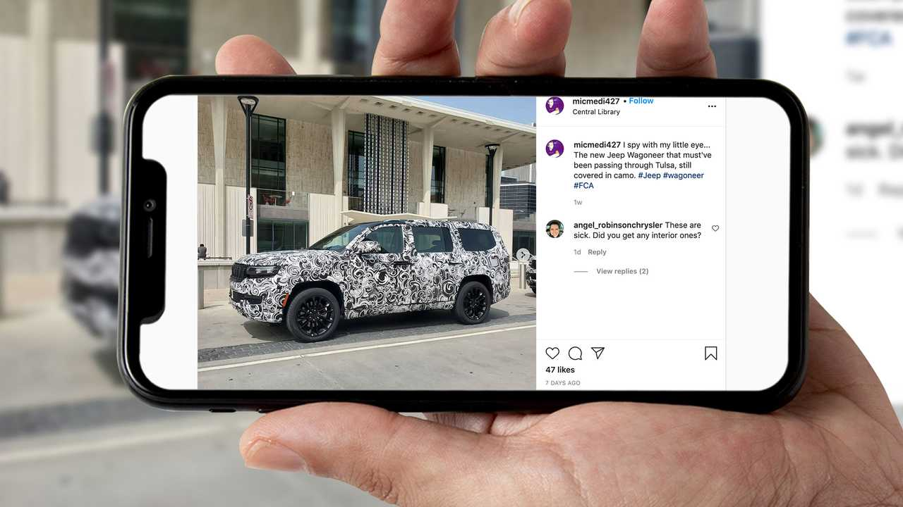 Jeep Grand Wagoneer Spied