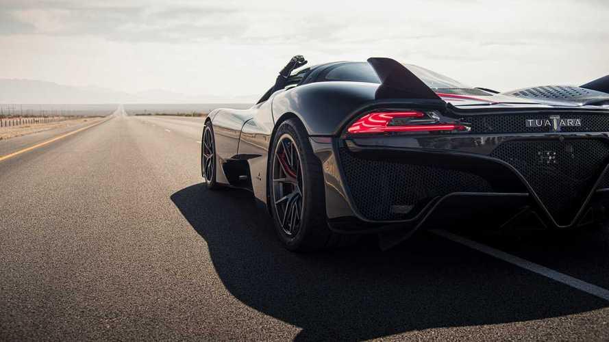 Hivatalos: 532.93 km/órával az SSC Tuatara a világ leggyorsabb sorozatgyártott autója