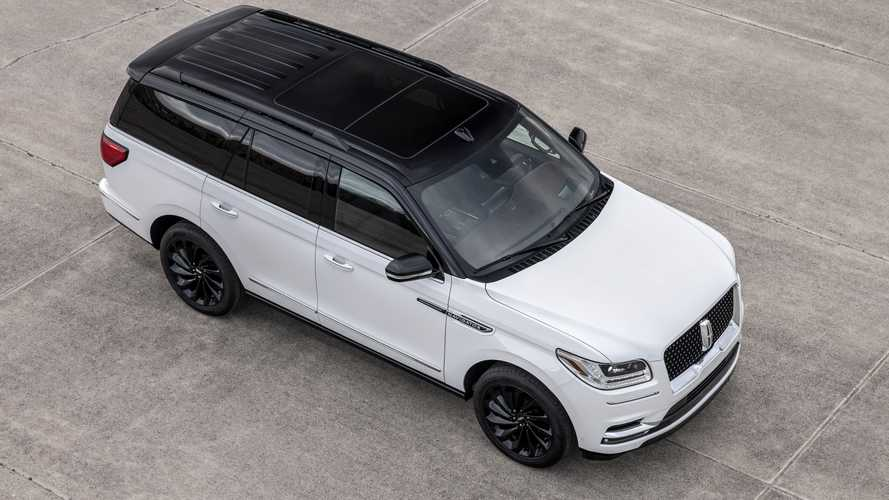 2021 Lincoln Navigator Black Label Edition Package Brings Dark Accents