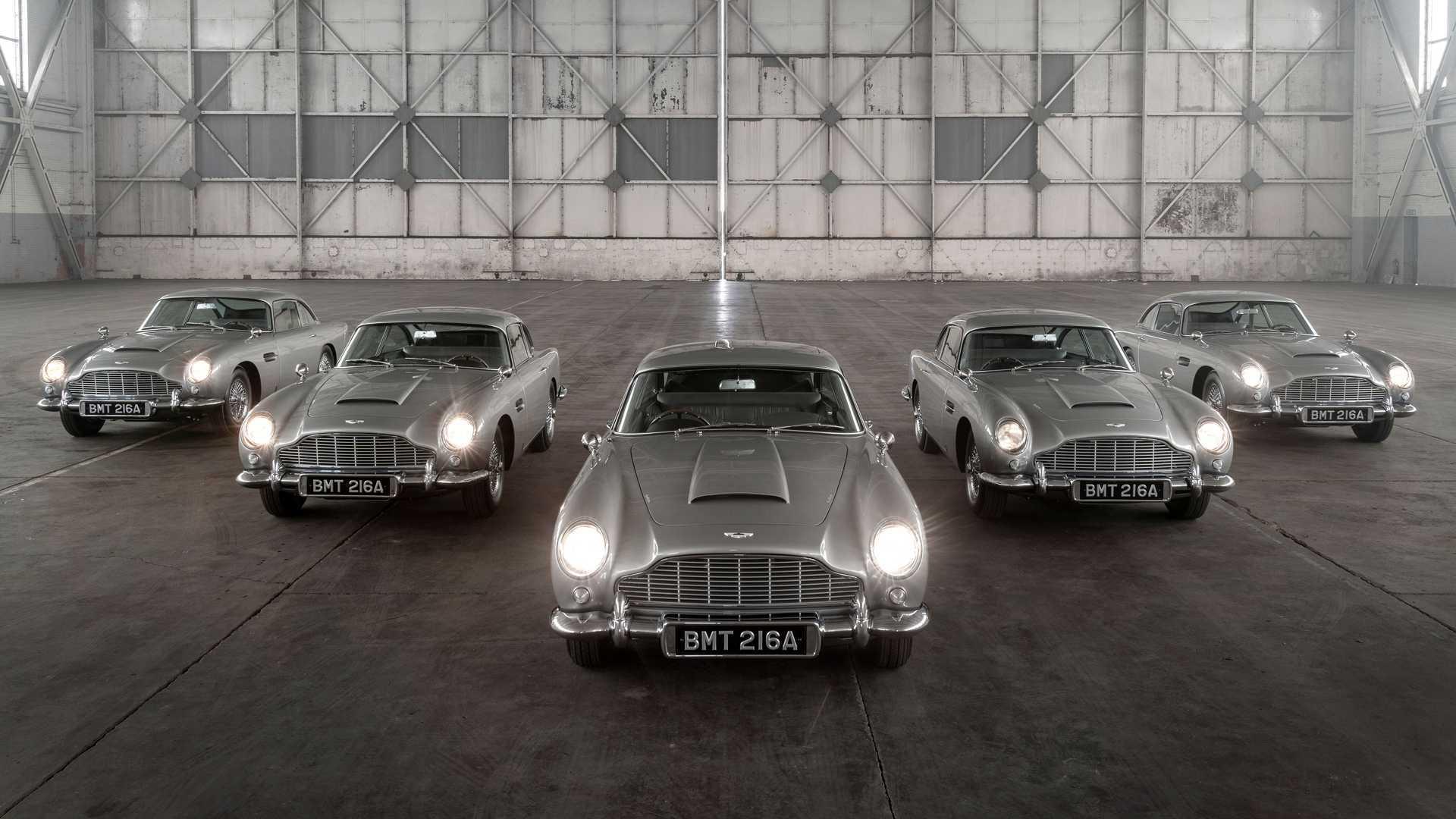 Aston Martin Volta A Produzir O Db5 De James Bond Em Serie Limitada