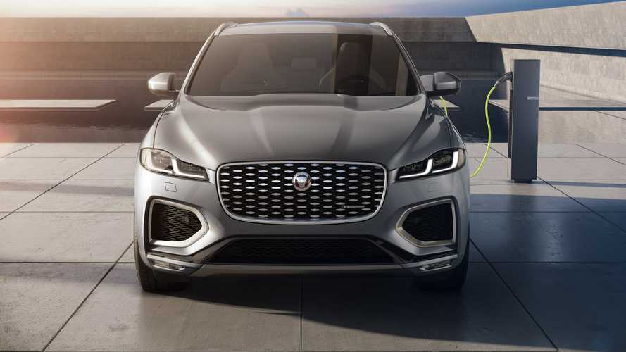 Jaguar F-Pace (2021): Facelift, neues Interieur und elektrifizierte Antriebe