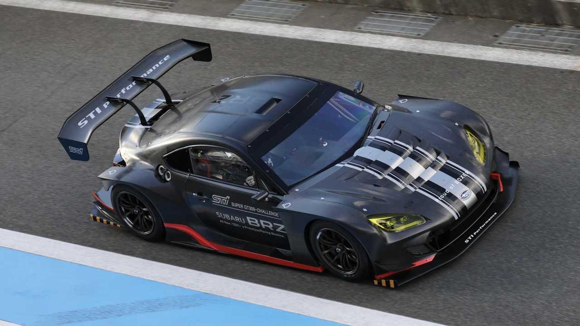 Последний BRZ от Subaru попал в гоночную комплектацию Super GT