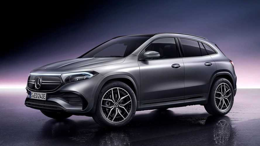 Mercedes-Benz EQA'e 2 adet 4 tekerden çekişli versiyon eklendi!