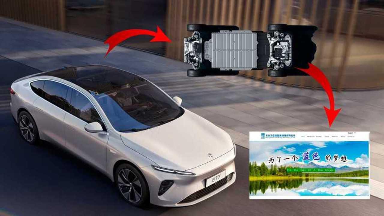 Nio ET7 mit Festkörperbatterie von Solid State Lion (Bildquelle: InsideEVs USA)