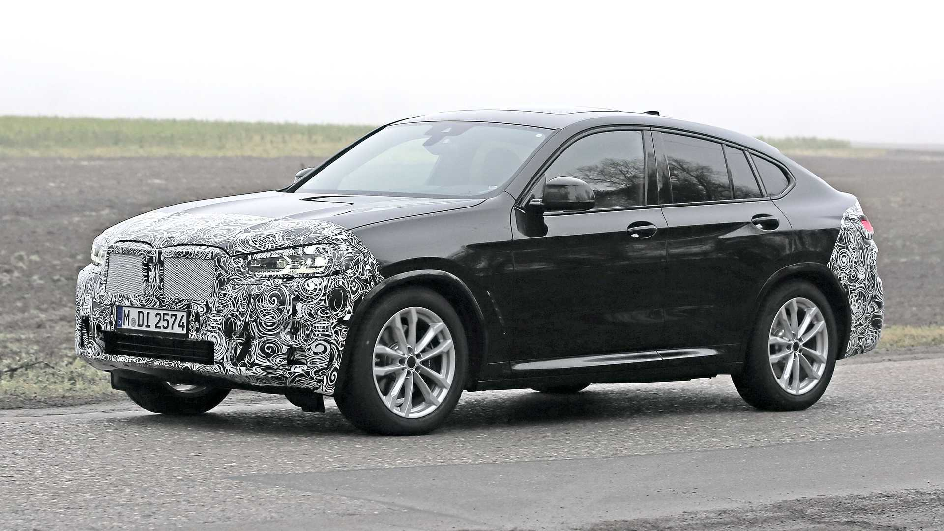 Face Lifted 2022 BMW X4 Spied During Testing - Motor1