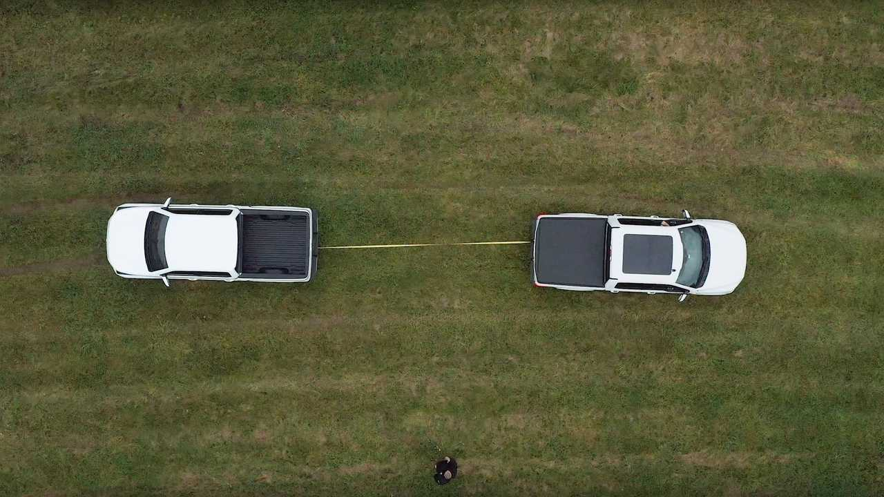 Tug Of War: Lordstown Endurance VS Ford F-150 AWD