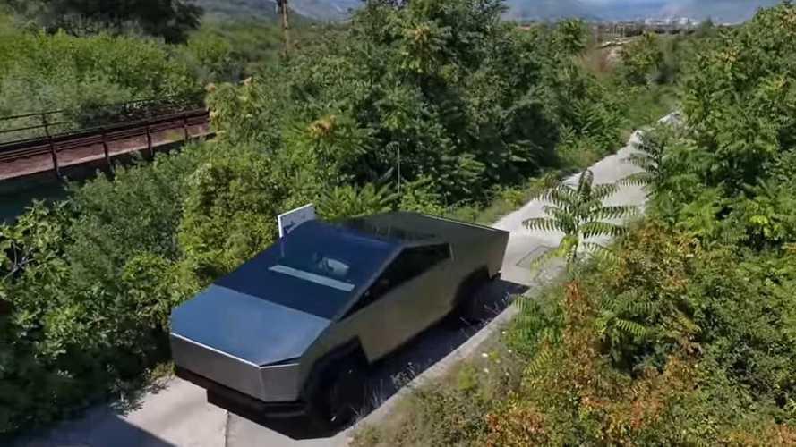 Exclusive Behind-The-Scenes Look Into Amazing Tesla Cybertruck Clone
