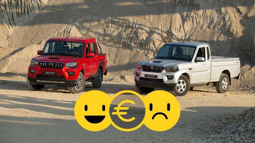 Promozione Mahindra il Goa Pik Up Plus a partire da 15.000 euro