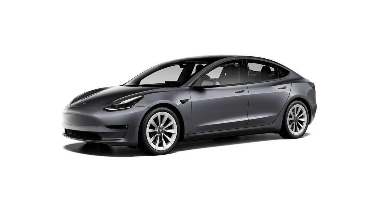 Tesla Model 3 19'' Sport Wheels (design studio U.S. - October 2020)