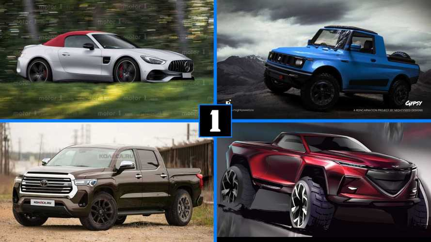 Motor1.com's Best Renderings Of The Week